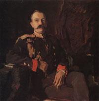 Портрет вел. кн. Георгия Михайловича (В.А. Серов, 1901 г.)