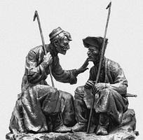 Два чабана (С.П. Санакоев, 1957 г.)