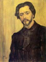 Портрет писателя Леонида Андреева.1907