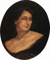 Портрет А.М. Стааль (В.А. Серов, 1910 г.)