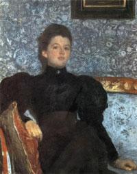Портрет В.В. Мусиной-Пушкиной (В.А. Серов)