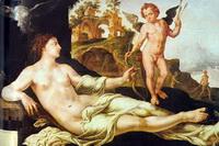 Венера и Амур (М. ван Хемскерк, 1545 г.)