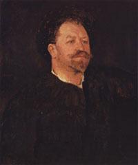 Портрет Франческо Таманьо (В.А. Серов, 1891 г.)