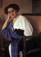 Портрет Е.А. Балиной (В.А. Серов, 1911 г.)