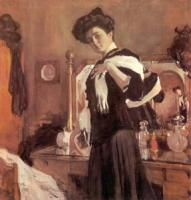 Портрет Г.Л. Гиршман. 1907