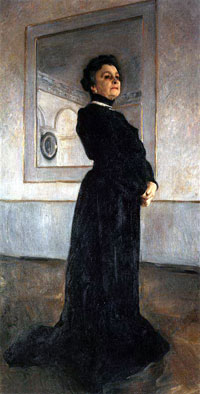 Портрет М.Н. Ермоловой