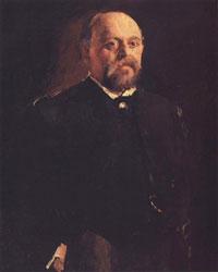 Портрет С.И. Мамонтова (В.А. Серов, 1887 г.)
