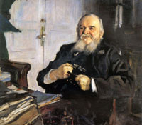 Портрет А.Н. Турчанинова (В.А. Серов, 1906 г.)