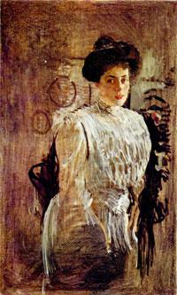 Портрет М.К. Морозовой (В.А. Серов)