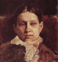 Портрет В.А. Репиной (В.А. Серов, 1881 г.)