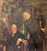 А.П. Ленский и А.И. Южин. 1908